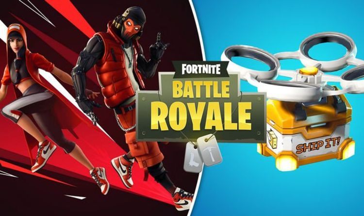 Fortnite 910 Patch Notes Update Hot Spots Loot Carriers