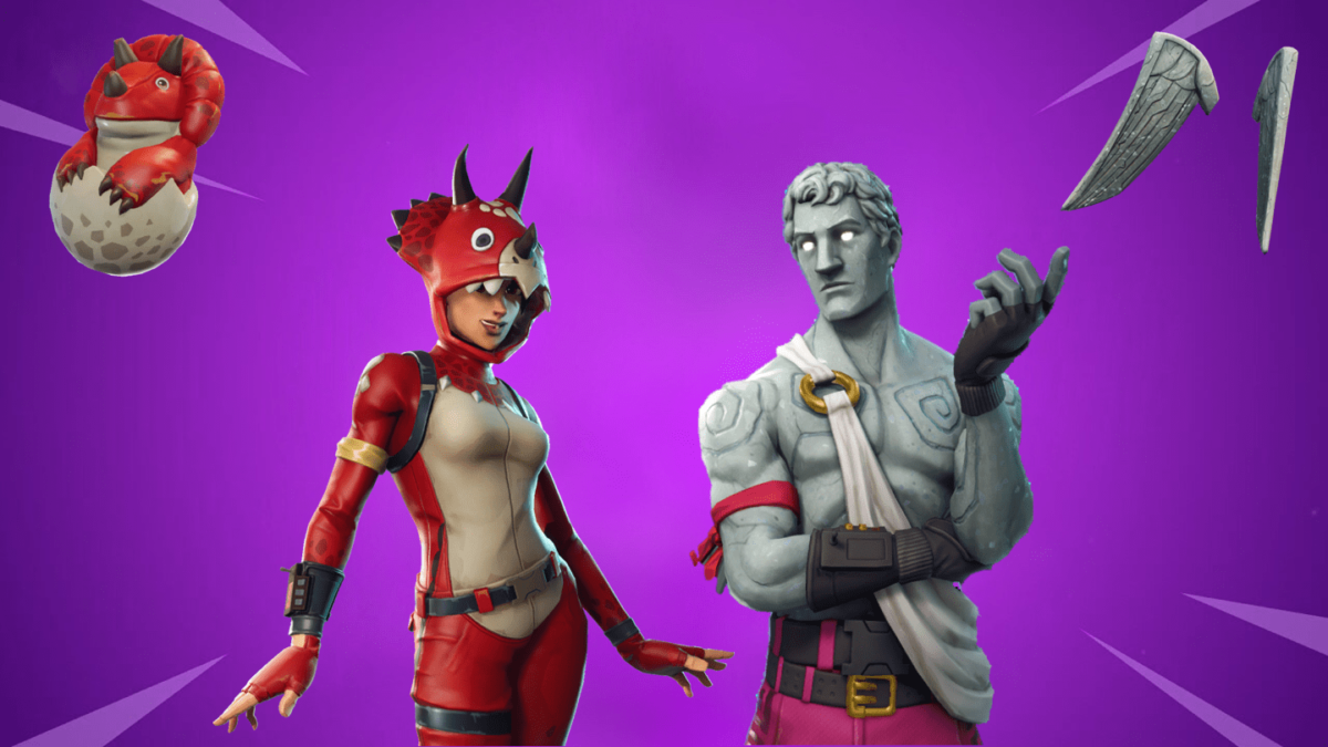 Fortnite Item Shop Concept to Allow Players to Purchase Skins and Back Blings Separately