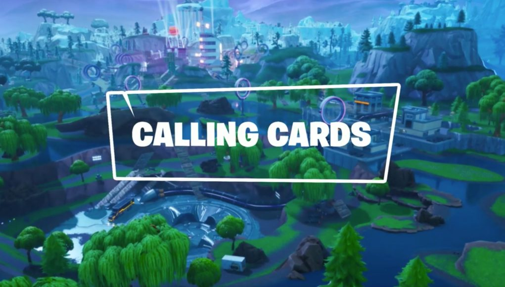 Fortnite Concept – Custom Calling Cards to Replace Banners