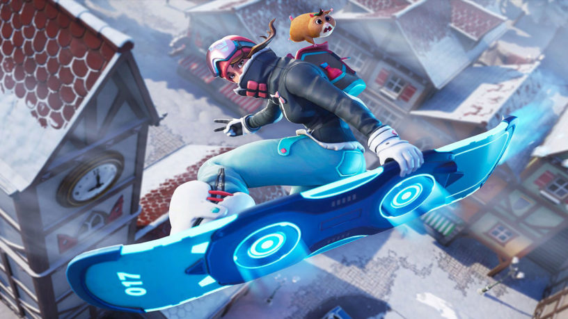 Fortnite may be getting a surfboard variant of the Driftboard