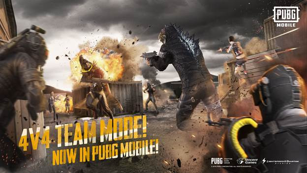 How to spawn with the M249 Light Machine Gun in PUBG Mobile Team Deathmatch