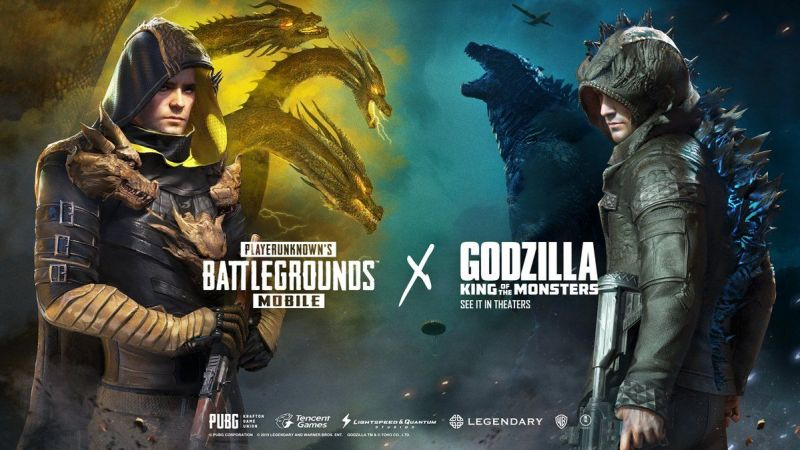 PUBG Mobile Introduces Lucky Spin Event For Godzilla Crossover Offering Two Godzilla Outfits