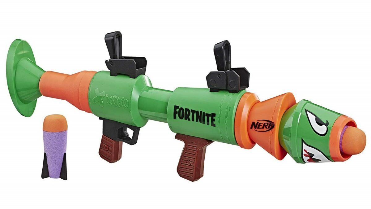 There's Now a Nerf Fortnite Rocket Launcher (and Four Other New Guns)