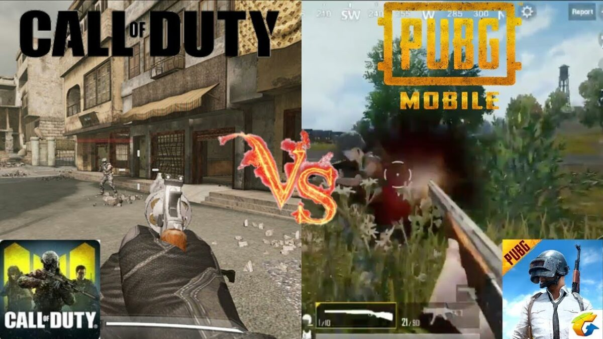 Call Of Duty Or PUBG Mobile, Which One You Should Prefer?