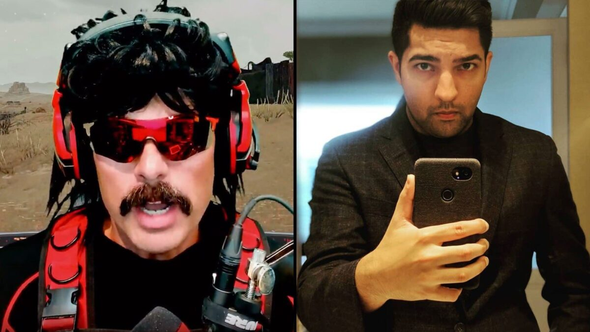 Dr Disrespect fires back at LIRIK's PUBG 'stream sniping' with hilarious donation