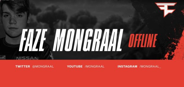 FaZe Clan welcomes Fortnite player Mongraal in surprise move