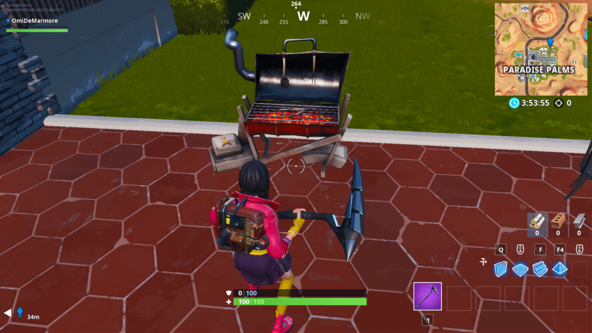 Fortnite: All Grill Locations (14 Days of Summer Challenge)