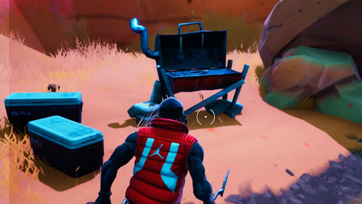 Fortnite: Where To Destroy Grills Map And Locations Guide