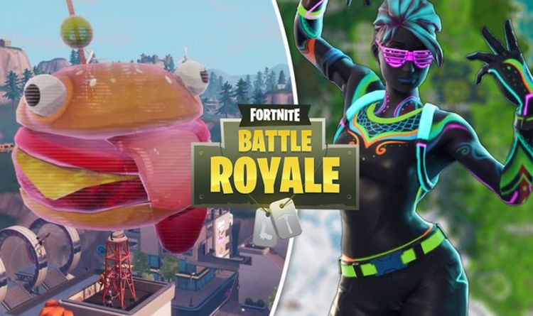 Fortnite holographic Durr Burger – Overtime challenge map location REVEALED | Gaming | Entertainment