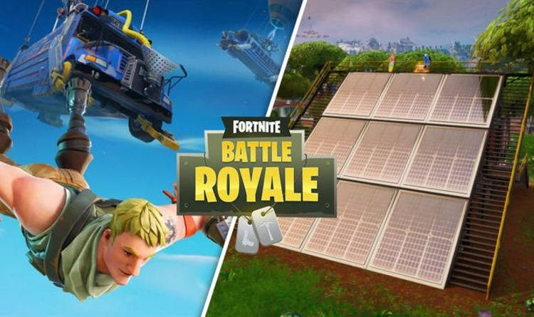 Fortnite Solar Array locations – Visit snow, desert, and jungle Array for Week 9 challenge | Gaming | Entertainment