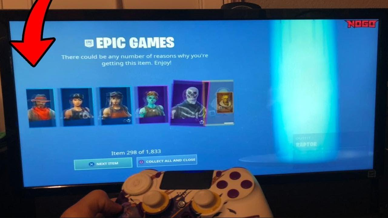How To Get Every Skin Free In Fortnite Battle Royale Nogo Jensensnow Ps4 Xbox One Pc Esports Fast