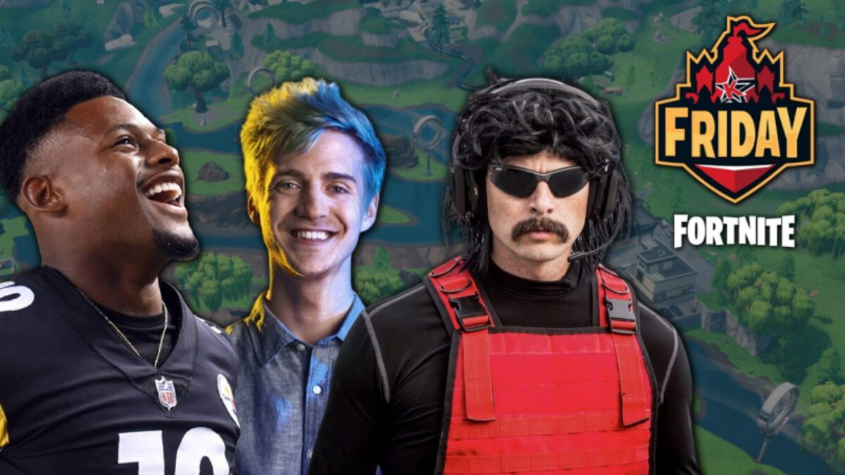 How to watch $20,000 Friday Fortnite on July 12 ft. Ninja, JuJu Smith-Schuster & more – schedule, bracket, players, format