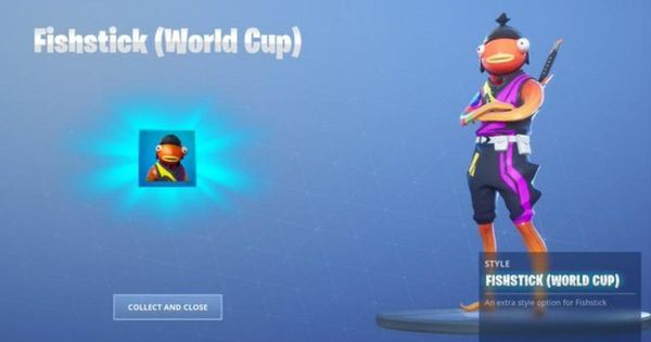 Log Into 'Fortnite' Now For A Free World Cup Skin Style