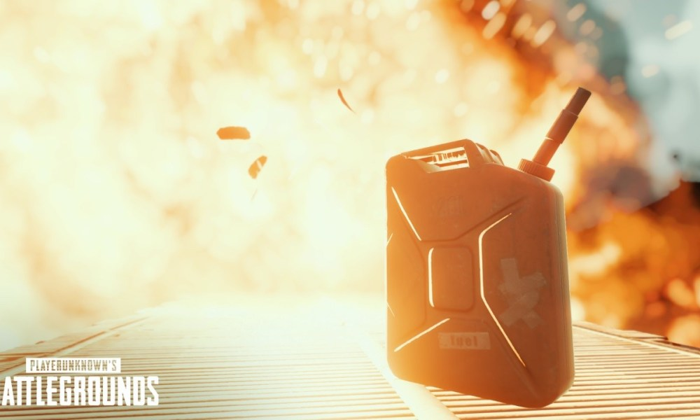 Now PUBG gas cans explode, can be used as traps