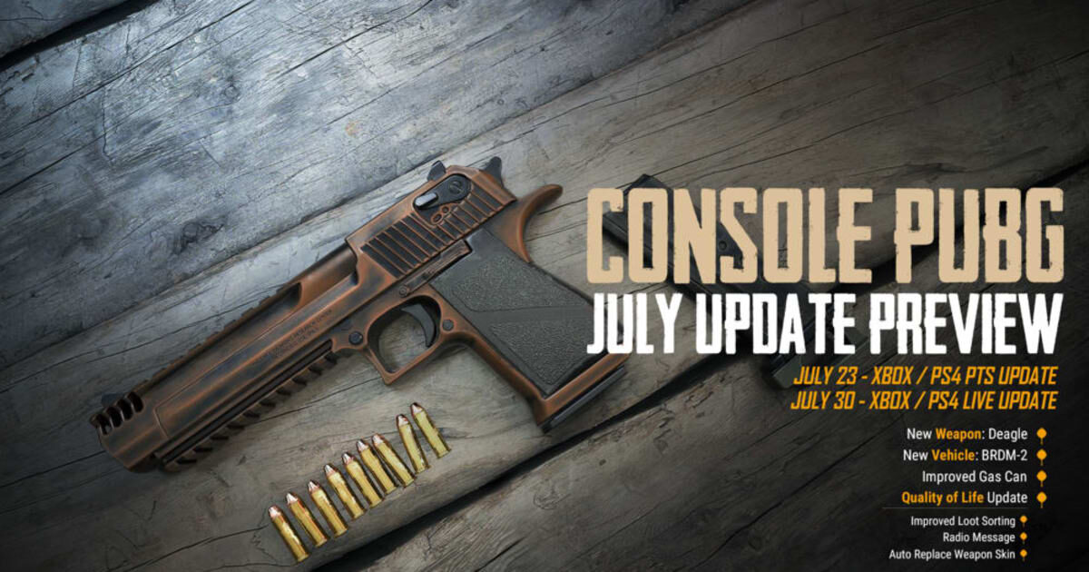 PUBG New Weapons Entering the Game Soon