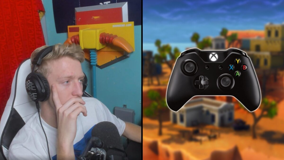 """Tfue on why he has """"less respect"""" for controller Fortnite players after using one"""