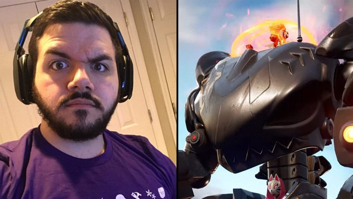 """CouRage goes berserk after dying to BRUTEs in Fortnite – """"F*CK THE MECHS!"""""""