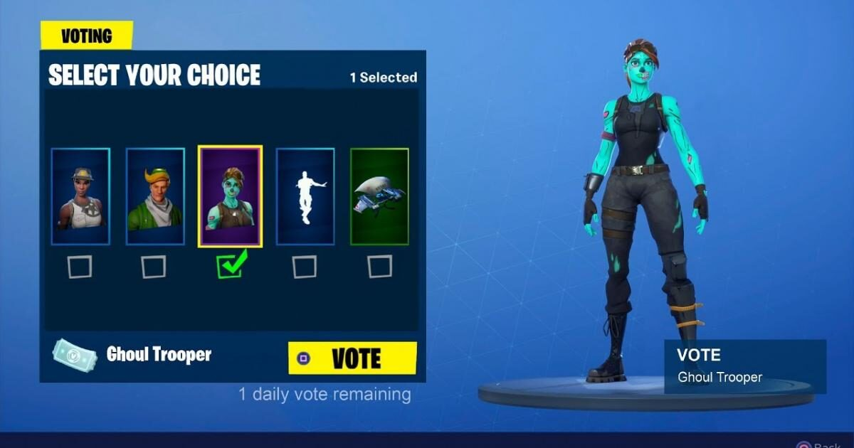 'Fortnite' is getting a big Item Shop change and voting system