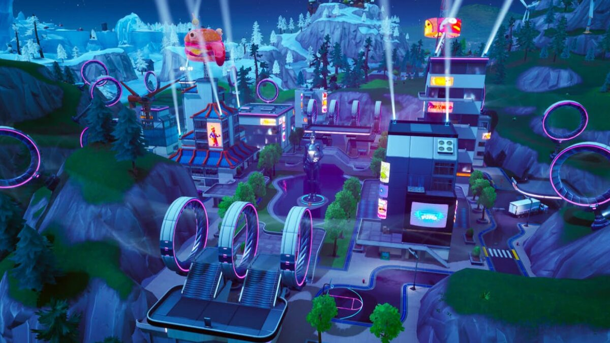Fortnite Map Will Use Tilted Town to Replace Neo Tilted