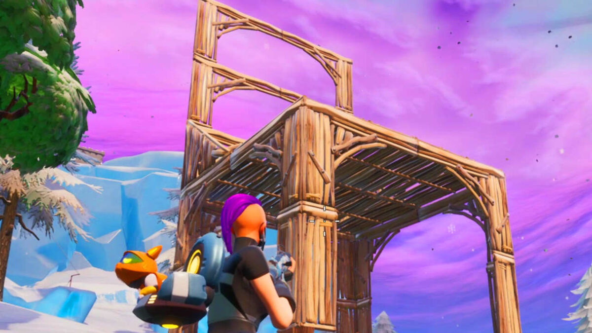 Fortnite Bat Statue, Way-Aboveground Pool, And Seat For Giants Locations Guide (Season 10)
