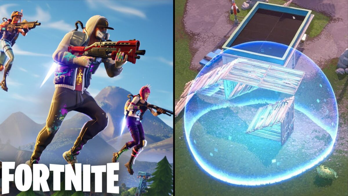 Fortnite: How to create a flying Shield Bubble