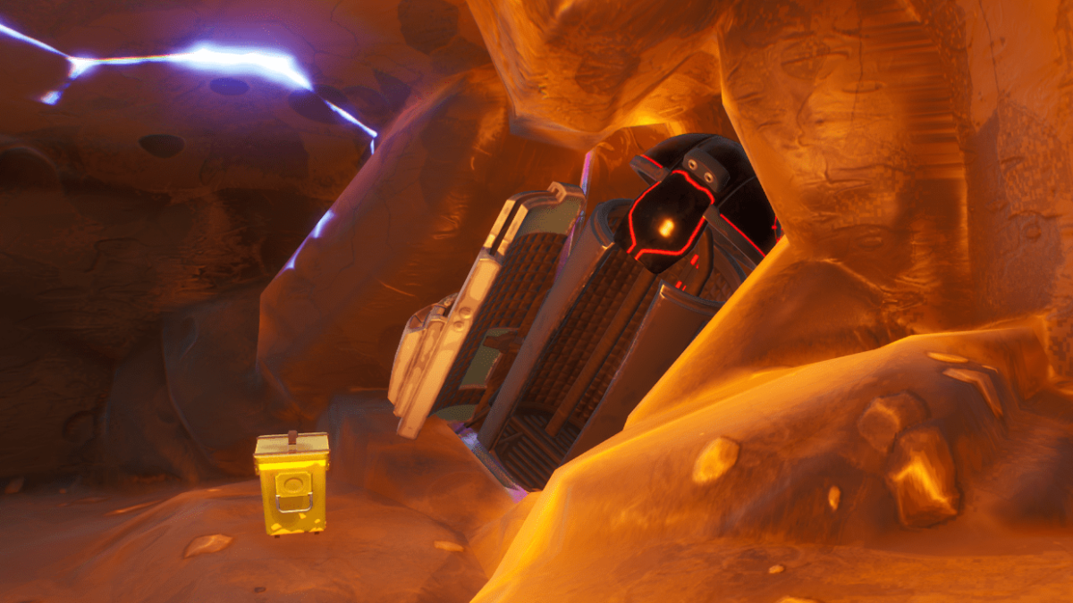 Fortnite Landing Pod Location – How and where to search a landing pod within a meteor