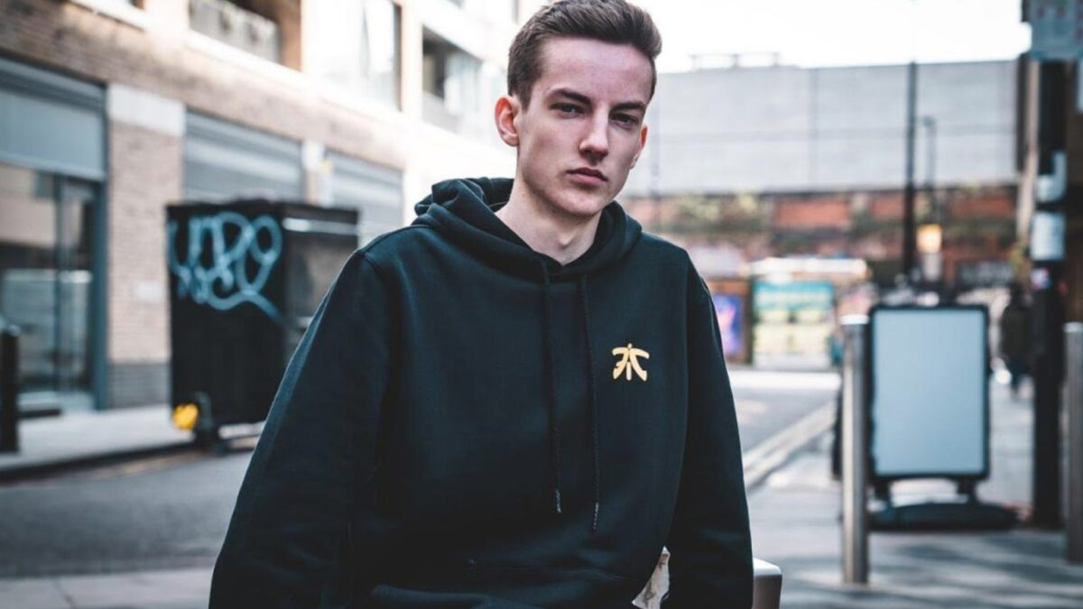 Fortnite player Jacob Gilbert hopes to be a world class gamer