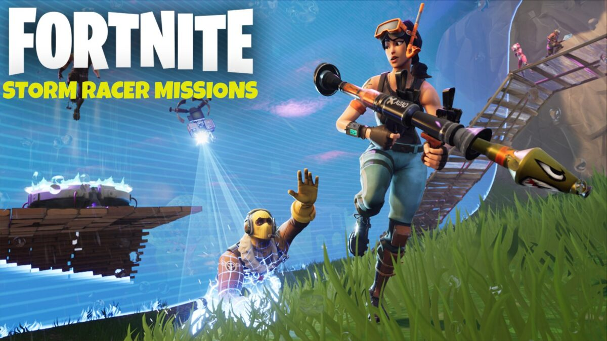 Fortnite Season 10 'Storm Racer' Mission challenges leaked for Week 8