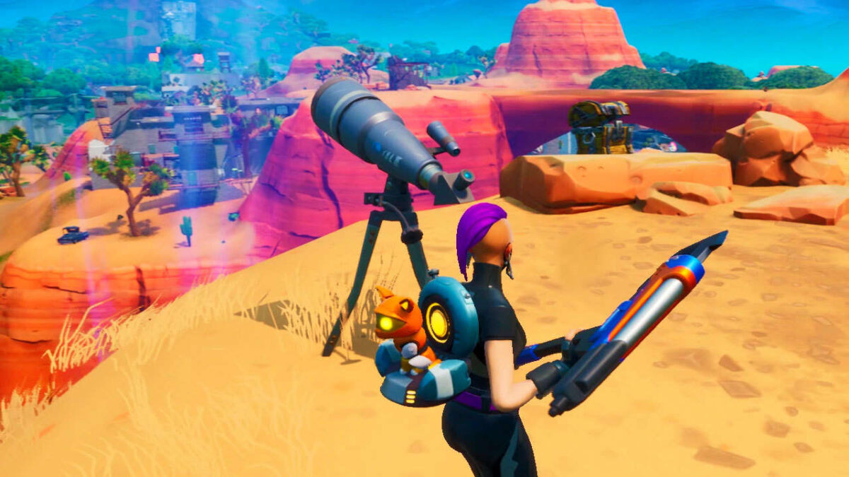 Fortnite Telescopes: Where To Dance At Different Telescopes For Week 8 Storm Racers Challenge