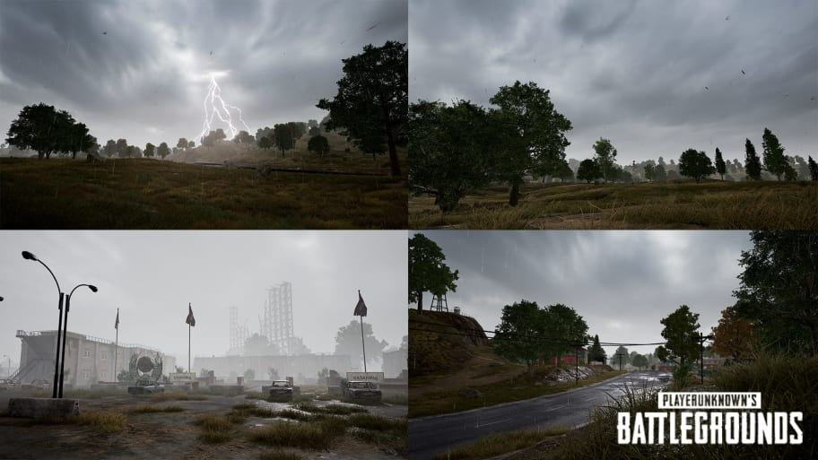 PUBG Bug Causes Players to See Different Weather in Same Game