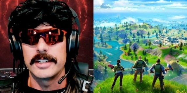 Fortnite Chapter 2 Causes Dr Disrespect to Lose His Mind
