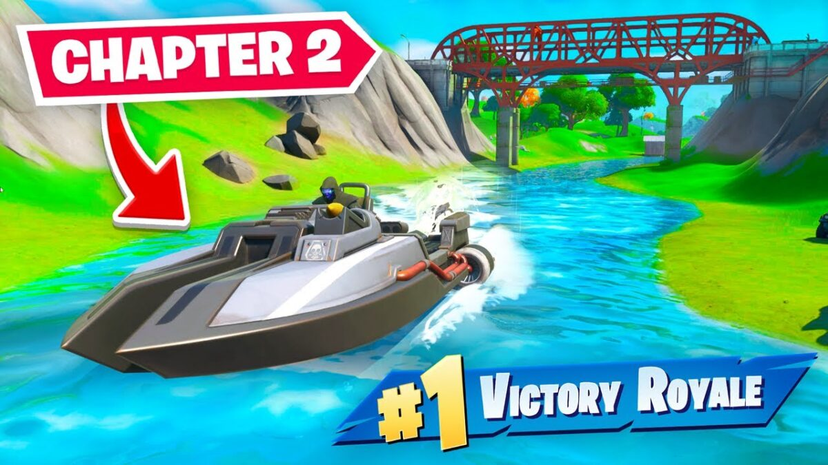 FORTNITE CHAPTER 2 IS HERE! (very epic)