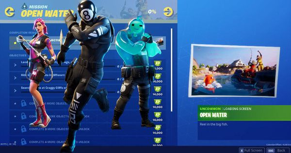 Fortnite Chapter 2 Week 2 Open Water Challenges Revealed