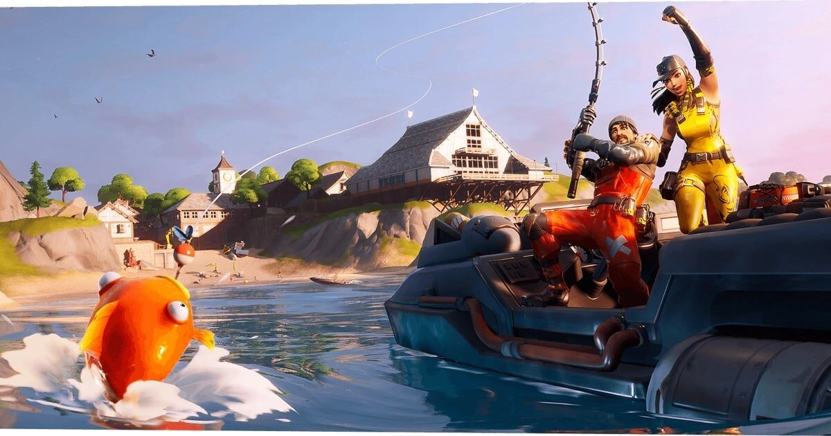 Fortnite fishing: how the rod included in Chapter 2 works, and where to catch the best fish on season 11 map