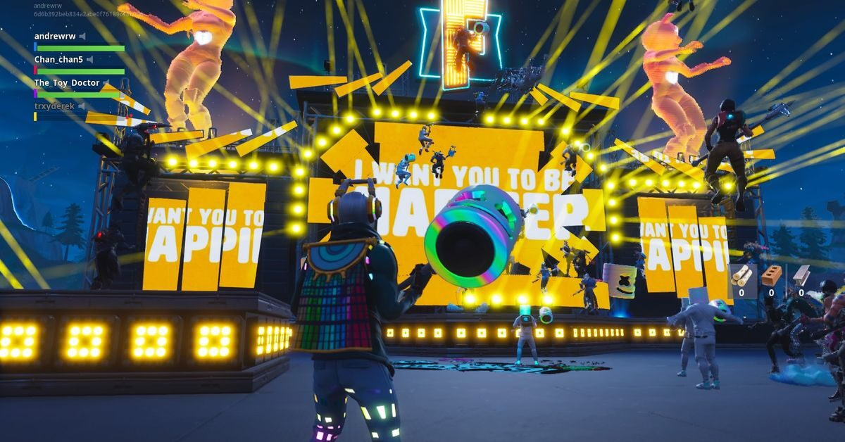 Fortnite's Marshmello concert was the game's biggest event ever