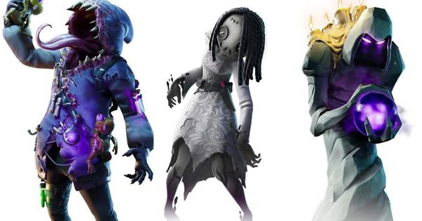 Here Are All Fortnite's New Leaked Wicked Halloween Skins