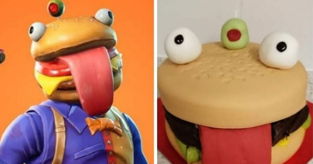 Mum's 'genius' Fortnite budget birthday cake is praised by parents