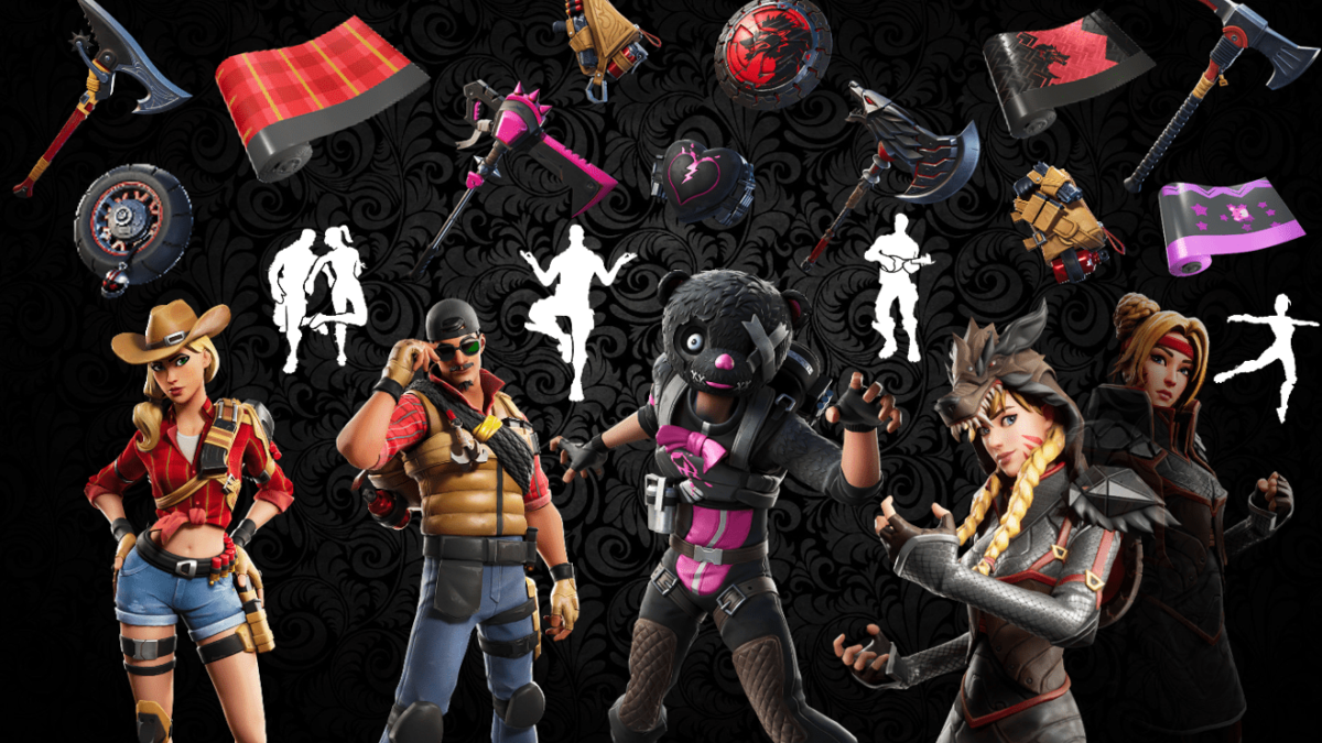 Names and Rarities of All Leaked Fortnite Cosmetics Found in v11.00 Files – Skins, Back Blings, Pickaxes, Emotes/Dances & Wraps