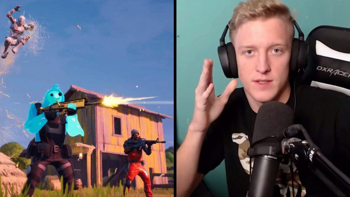 Tfue goes on a rant after forgetting to turn on Streamer Mode in Fortnite