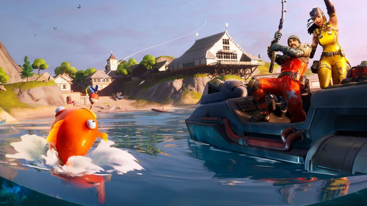 Fortnite fishing frenzy competition: how to get the Bottom Dweller pickaxe in Fortnite