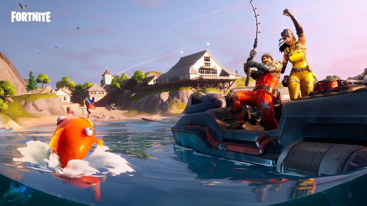Fortnite Fishing Frenzy Leaderboards as of November 24th