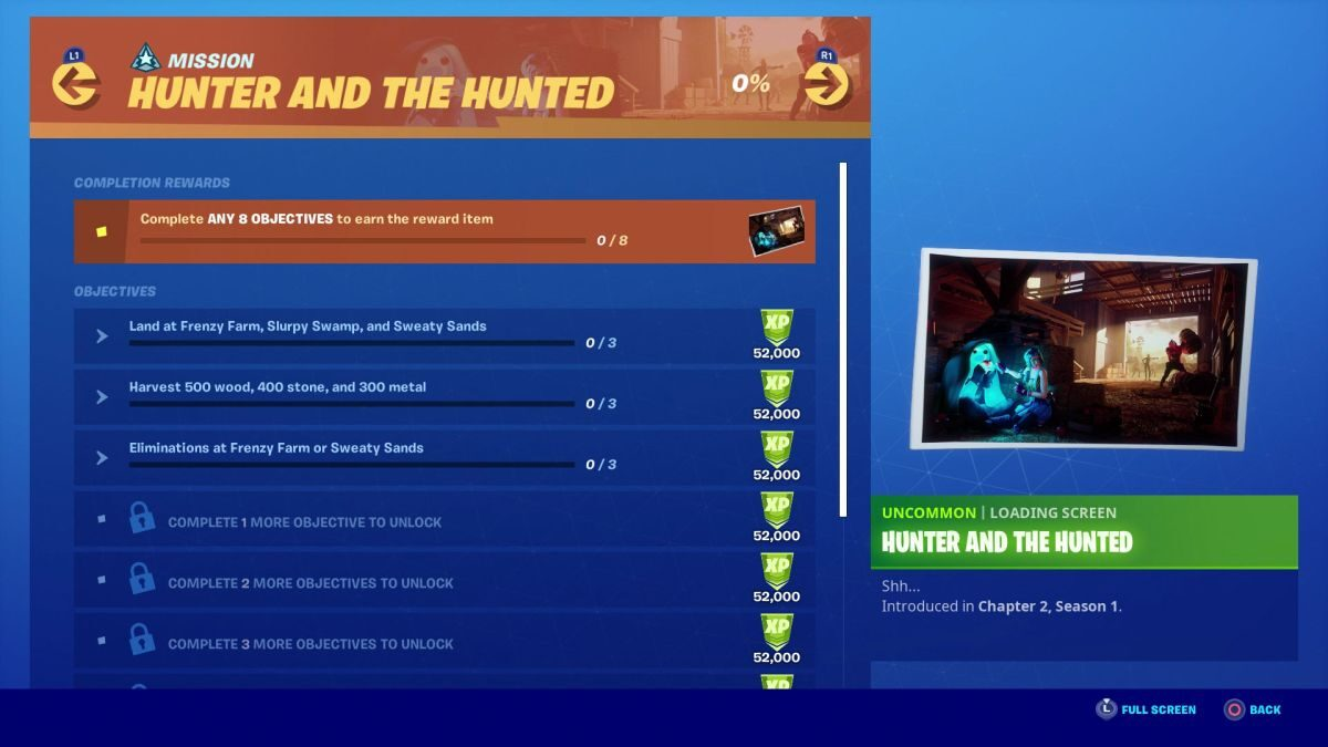 Fortnite Hunter and the Hunted challenges: How to finish the entire Chapter 2 Season 1 Week 6 mission