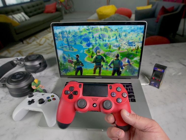 Use a PS4 or Xbox controller with your Mac for Fortnite and Apple Arcade