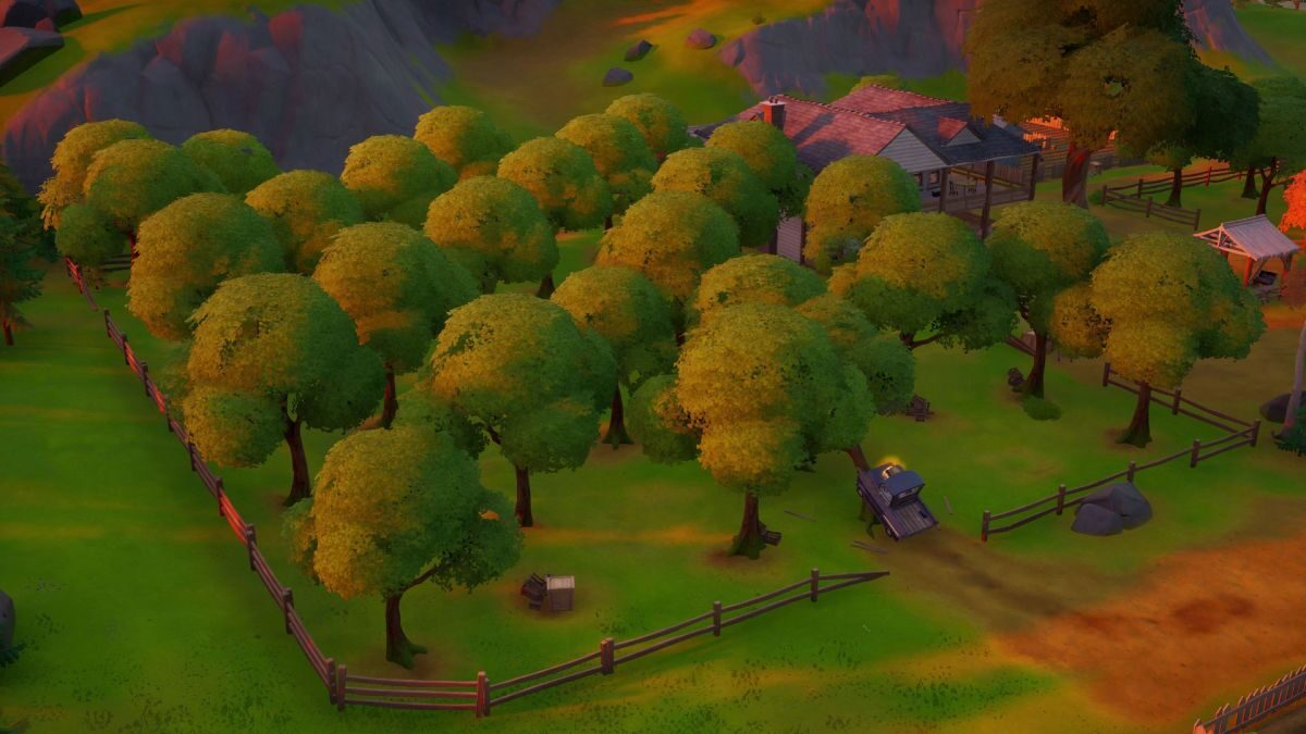 Fortnite Orchard location: Where to Consume Foraged apples at The Orchard