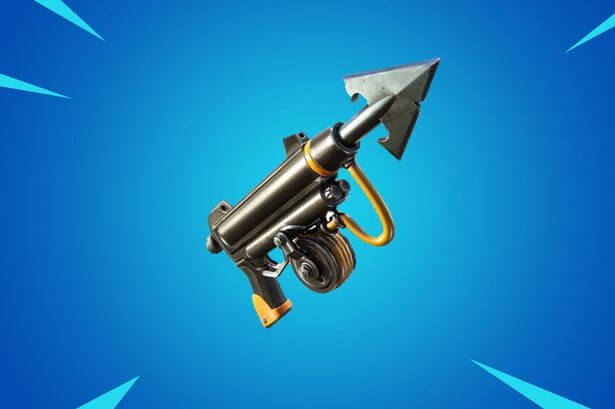 Fortnite secretly adds new Harpoon Gun