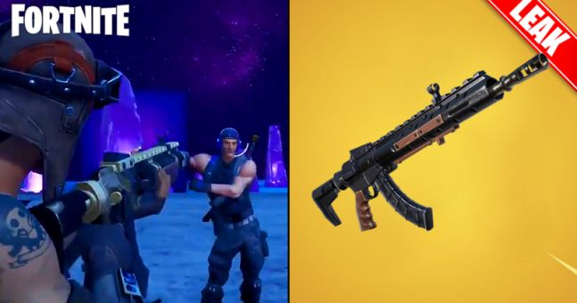 Leaked Fortnite gameplay of new Heavy AR reveals how overpowered it is