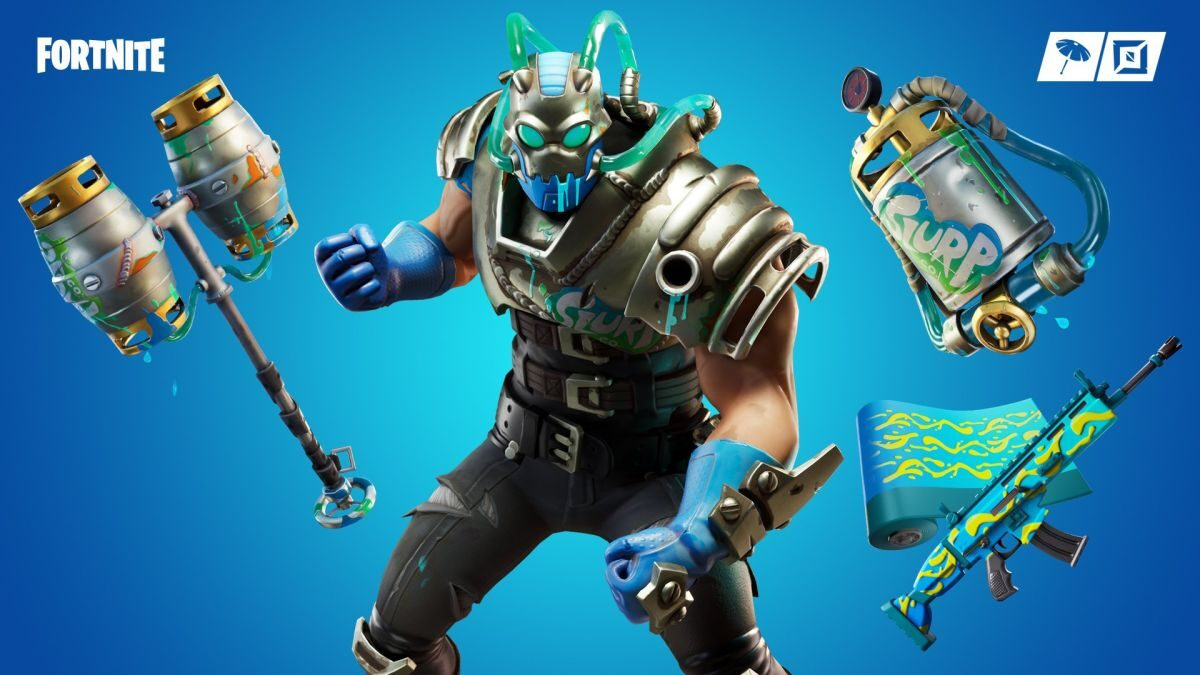 You merely adopted Fortnite's Slurp, this 'Big Chuggus' skin was born in it