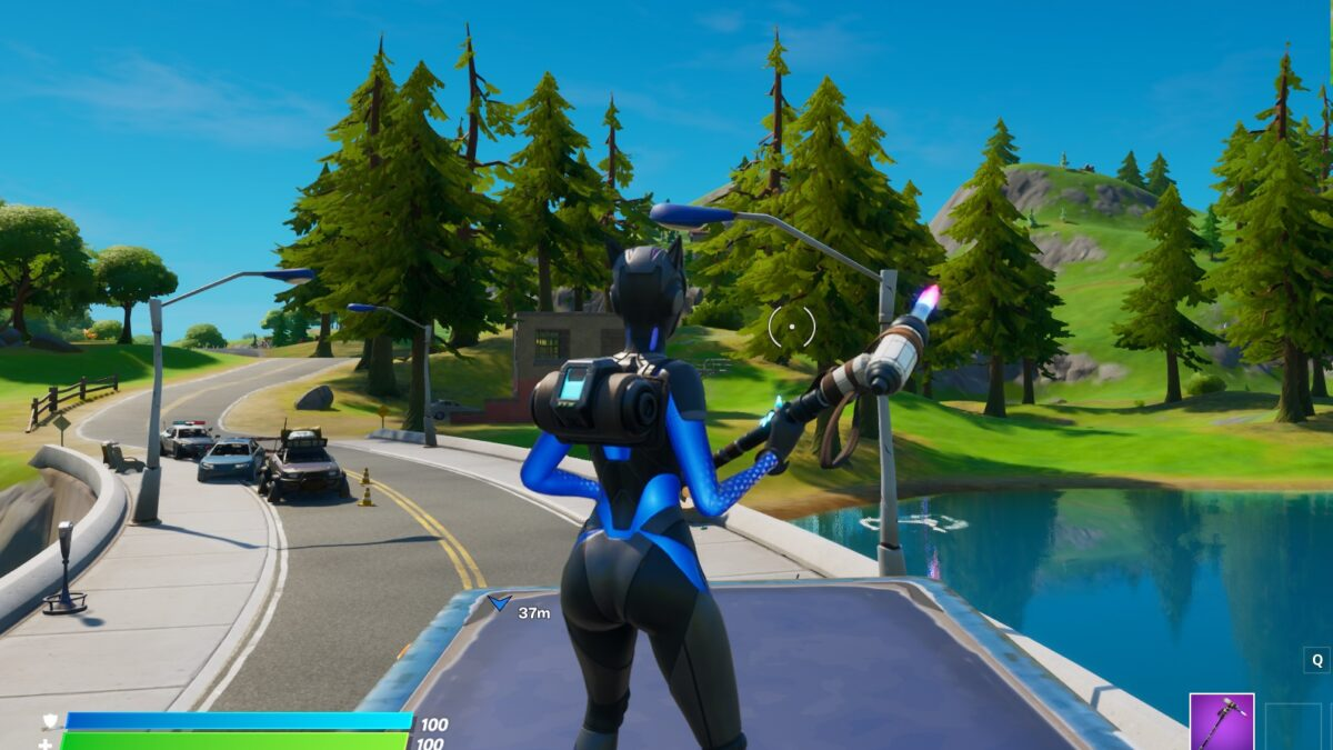Fortnite Chapter 2: Where to find the letter E