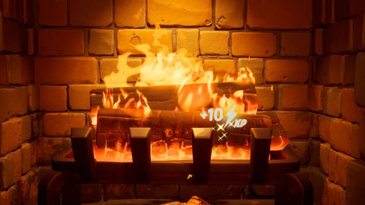 Fortnite fireplace: how to warm yourself by the Fortnite fireplace