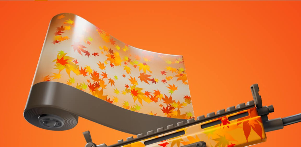 Fortnite players can earn an animated Autumn-themed weapon Wrap in new Quest